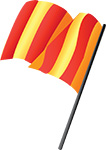 Red / Yellow flag